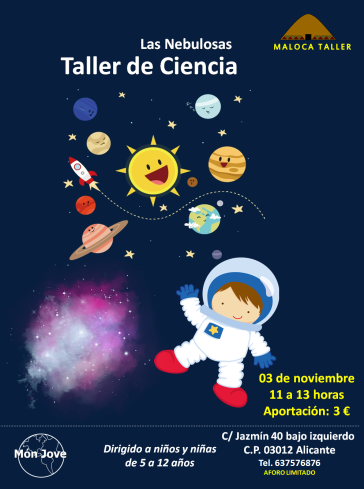 taller ciencia las nebulosas
